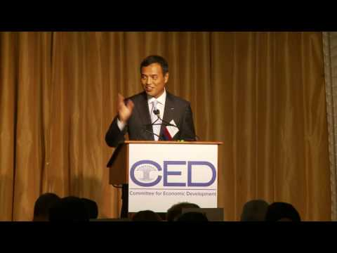 2016 Acceptance Speech: Takeshi Niinami, Suntory Holdings Limited