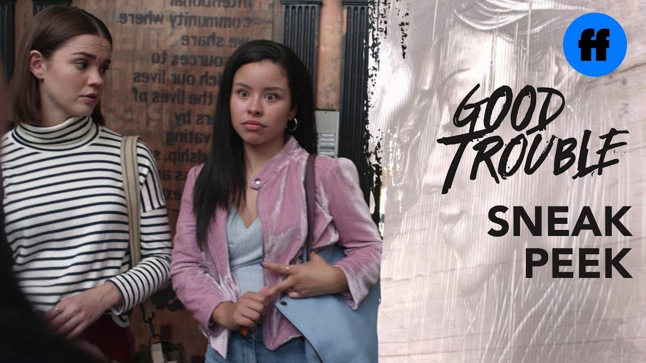 Download Good Trouble Series Premiere   Sneak Peek: The Coterie   Freeform