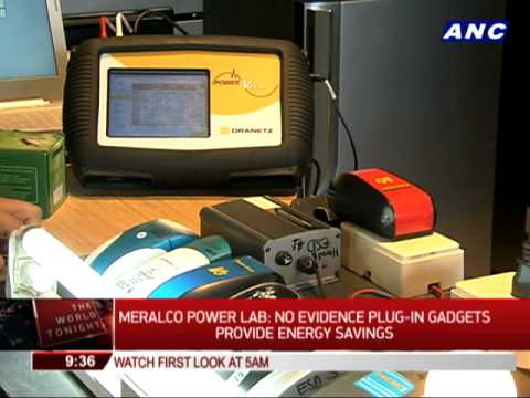 Meralco tests energy saving devices