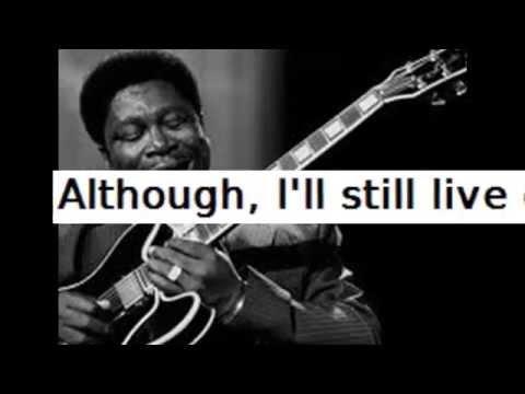 B. B. King _  The Thrill is gone  -   backing track ( instrumental) karaoke