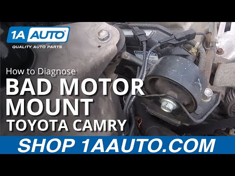 How to Diagnose a Bad Upper Motor Mount 97-01 Toyota Camry