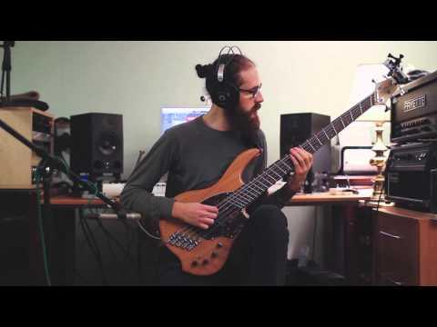 Intervals - Mata Hari [Bass Cover - multicam, one take/no cuts, GoPro]