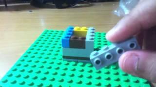 Lego Moc Building:reclining Chair