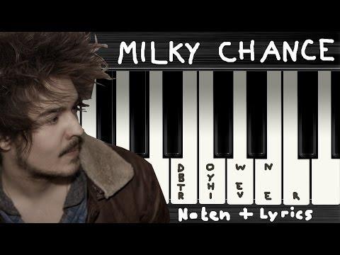 Milky Chance - Down By The River → Lyrics + Klaviernoten | Chords