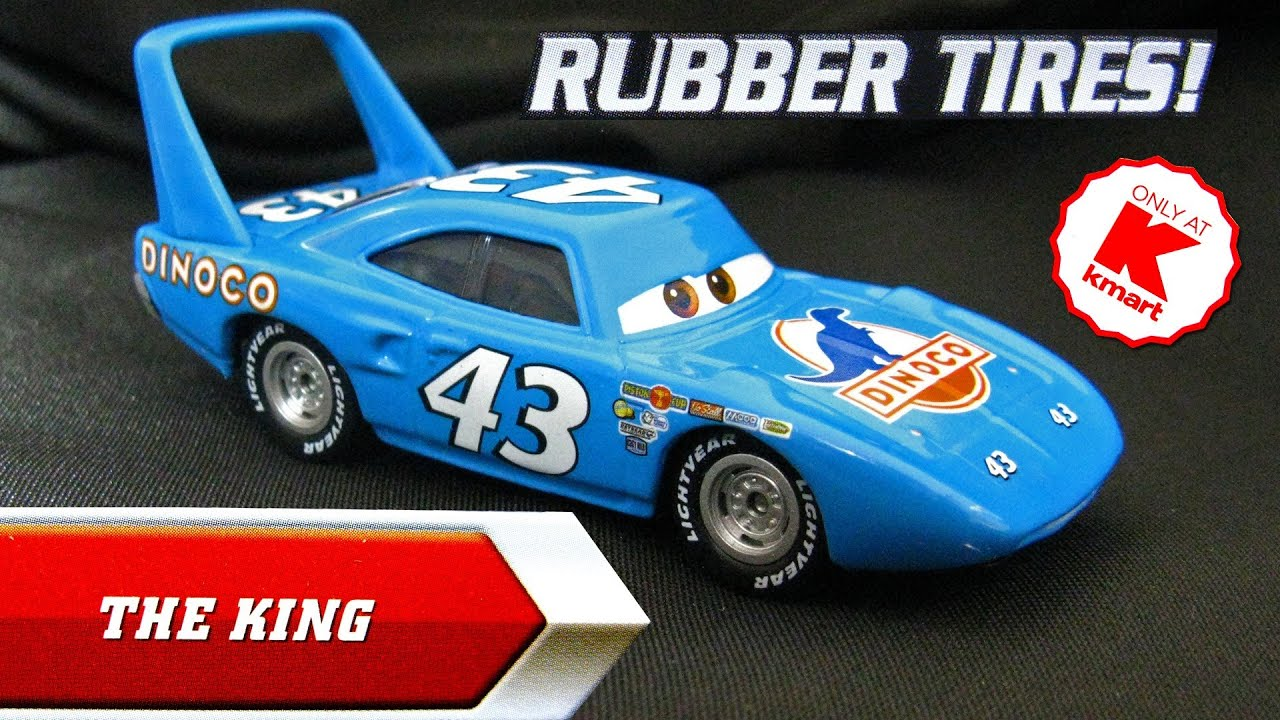 Uncategorized Cars The King disney pixar cars the king k mart exclusive day 6 die cast toy synthetic rubber tires youtube