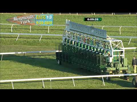 video thumbnail for MONMOUTH PARK 09-20-20 RACE 13