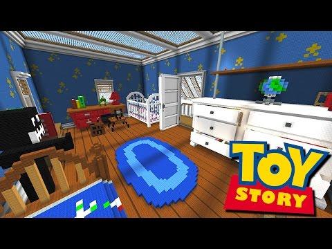 TOY STORY HIDE N' SEEK! - Minecraft Mods - Видео из Майнкрафт (Minecraft)