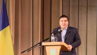 Саакашвили украинцам: Мне лучше умереть, чем вас подвести