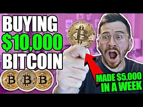 Buying $10,000 Worth Of Bitcoin And Cryptocurrency! (NOT CLICKBAIT | $10,000 INVESTMENT EXPERIMENT)
