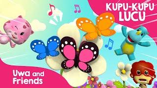 Kupu kupu yang Lucu - Lagu anak Klasik - Lagu Anak 90an