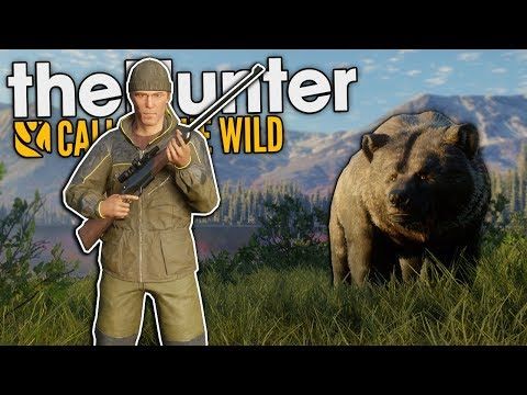 Idiots Get Attacked by a Bear in the Yukon! - The Hunter Call of the Wild Multiplayer |