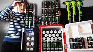 Für über 100€ MONSTER ENERGY kaufen! 😱😍(3 Minibars voll)