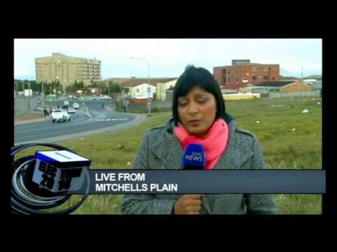 Residents are concerned about their safety in Mitchells Plain