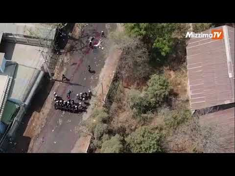 Myanmar Terrorist Group Killing Myanmar Citizens!!!  (Drone Shot Release)