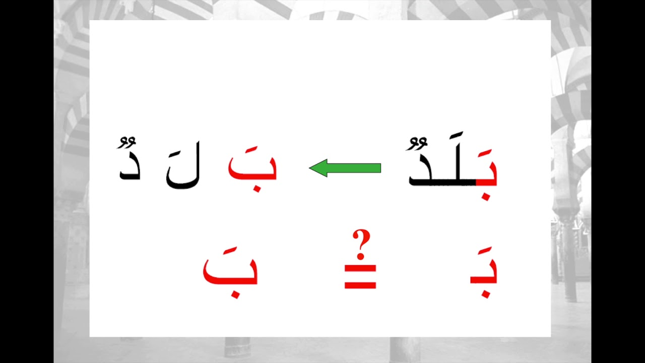 Learning arabic is easy #1