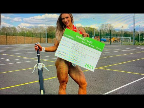 Victoria Vzvodnaya Gets UK IFBB Pro Card After Just 2nd Show As Super Muscular Legs Wow Judges