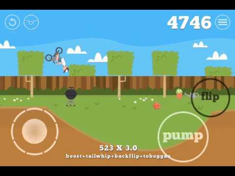 Pumped BMX (Backyard) Tabletops - 7650 points!