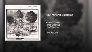 Nine Mineral Emblems