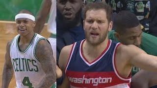 Ref Trips Player! Isaiah Thomas Back From Injury! Wizards vs Celtics