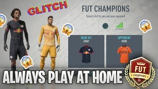 FIFA 20 Glitch!! How to play every Fut Champions game at home!!