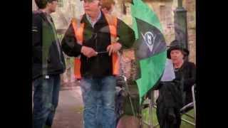 Filming Village Scenes of Downton Abbey (season4) in Bampton