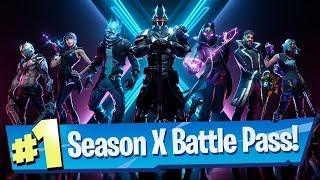 Fortnite Season X Battle Pass & Challenges (Level Headed, Rumble Royale, Road Trip) - NEW!!!