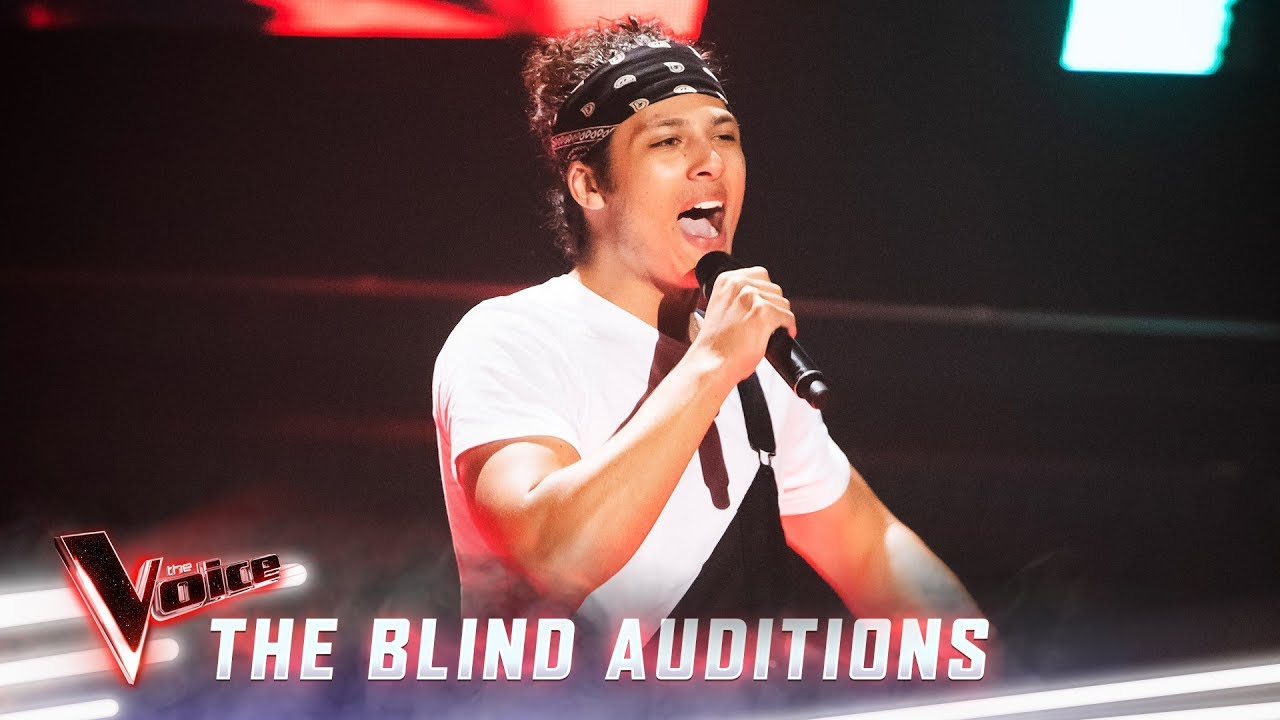 Download The Blind Auditions: Denzel sings 'Akuma'   The Voice Australia 2019