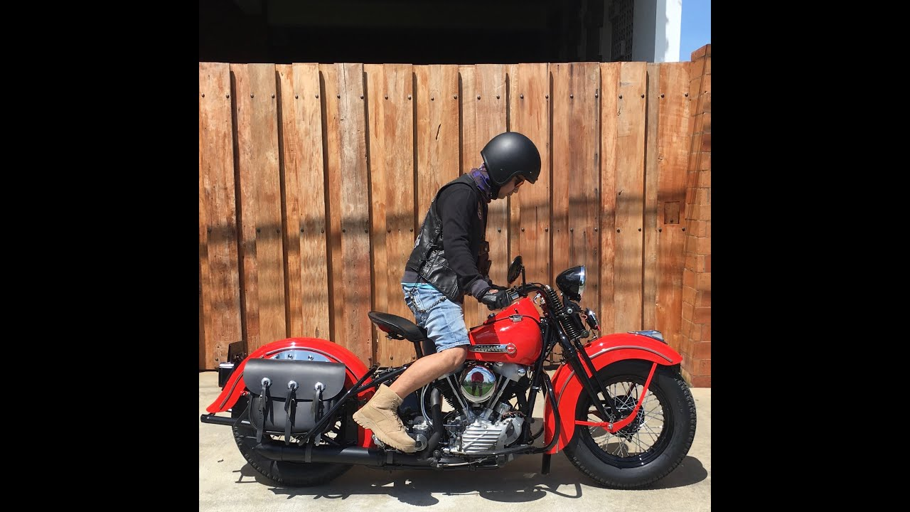 Harley Davidson: 1947 Harley Davidson EL Knucklehead