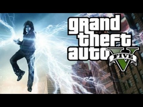 GTA 5 Mods - ELECTRIC MAN MOD! (GTA 5 PC Mods Gameplay)