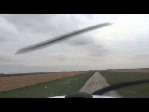 Landing at Dwight Airport (Tiny Runway) KDTG
