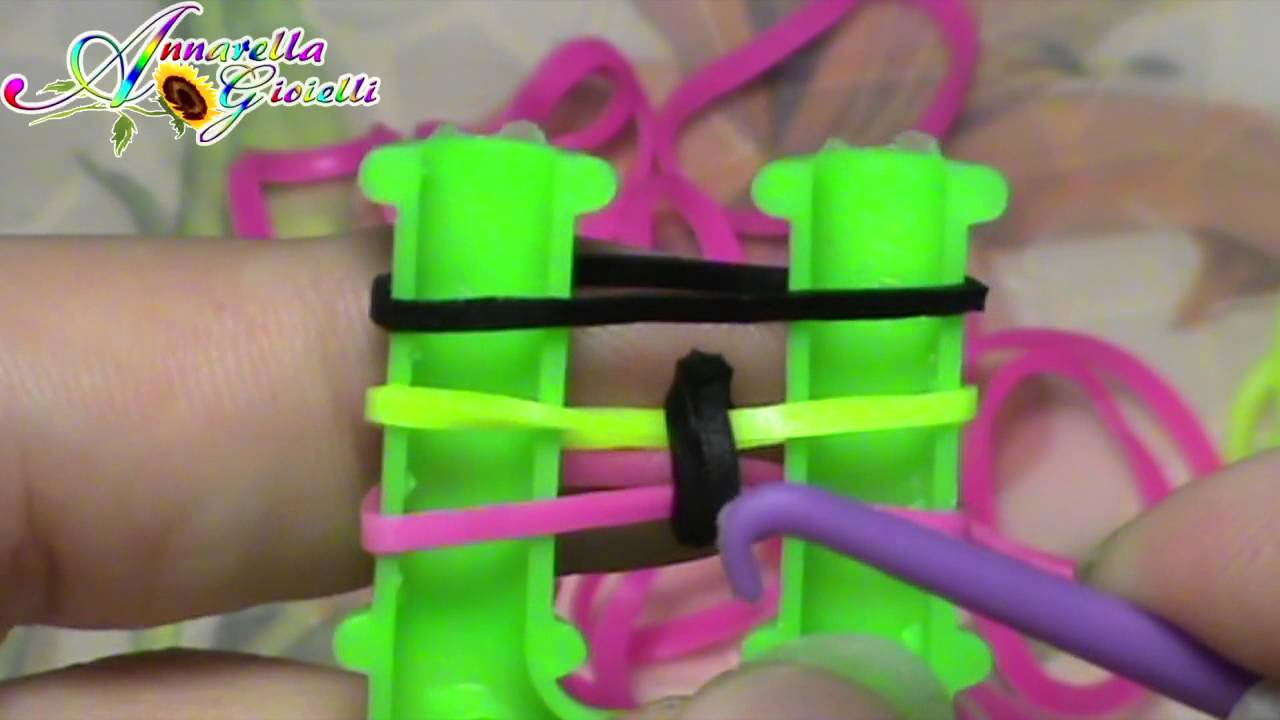 Tutorial Braccialetti Con Elastici Inverted Fishtail Senza Telaio