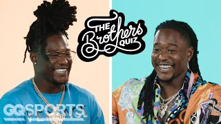 Shaquill & Shaquem Griffin Answer 25 Questions About Each Other | The Brothers Quiz | GQ Sports