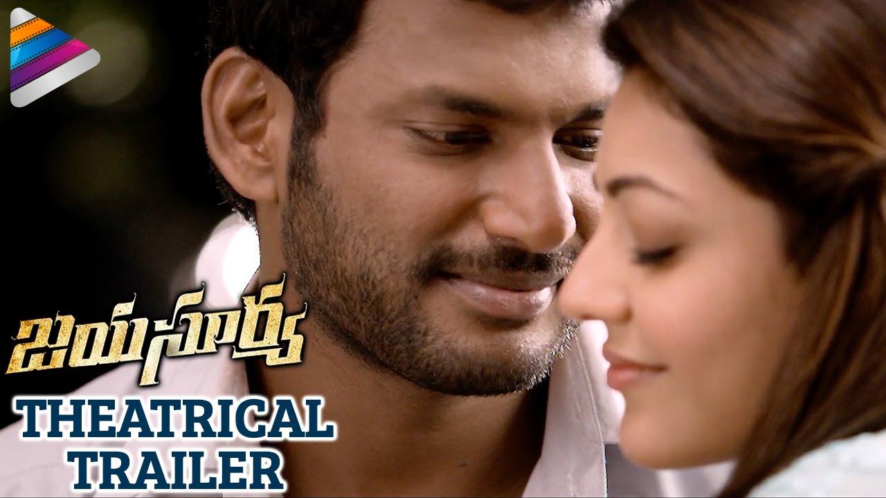 Download Jayasurya Movie Theatrical Trailer   Vishal   Kajal Aggarwal   Telugu Filmnagar