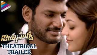 Jayasurya Movie Theatrical Trailer | Vishal | Kajal Aggarwal | Telugu Filmnagar