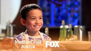 Matthew Presents His Dish To The Judges | Season 7 Ep. 4 | MASTERCHEF JUNIOR thumbnail