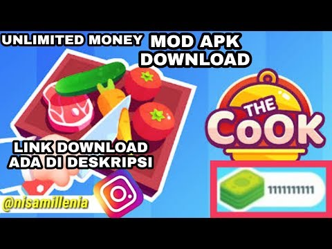 THE COOK - GAME MOD TERBARU ANDROID FREE DOWNLOAD ( UNLIMITED DOLLAR ) GAME OFFLINE - 동영상