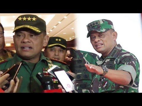 Terkait Isu 5 000 Senjata, Panglima TNI Gatot Nurmantyo Bertemu Presiden Jokowi
