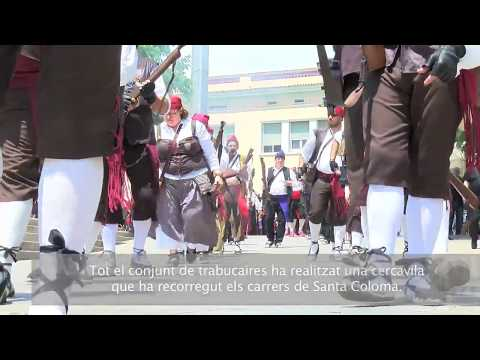 Santa Coloma, escenari de la 36ª Trobada Nacional de Trabucaires