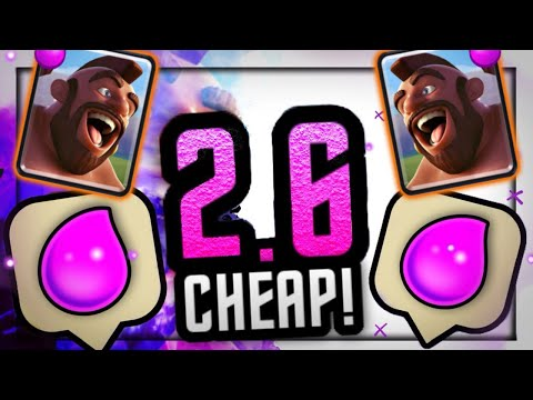 2.6 Hog Cycle REMAINS the BEST & CHEAPEST Hog Deck in Clash Royale