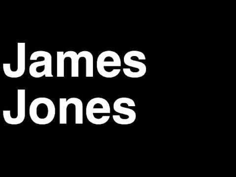 How to Pronounce James Jones Miami Heat NBA Basketball Player Runforthecube