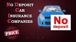 How To Get Car Insurance With No Deposit   Compare Quotes