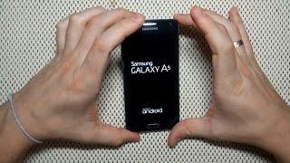 Сброс настроек Samsung A5 (A500F) через Recovery