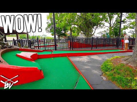 Crazy Mini Golf Holes And Guaranteed Mini Golf Hole In One Skill Shots!