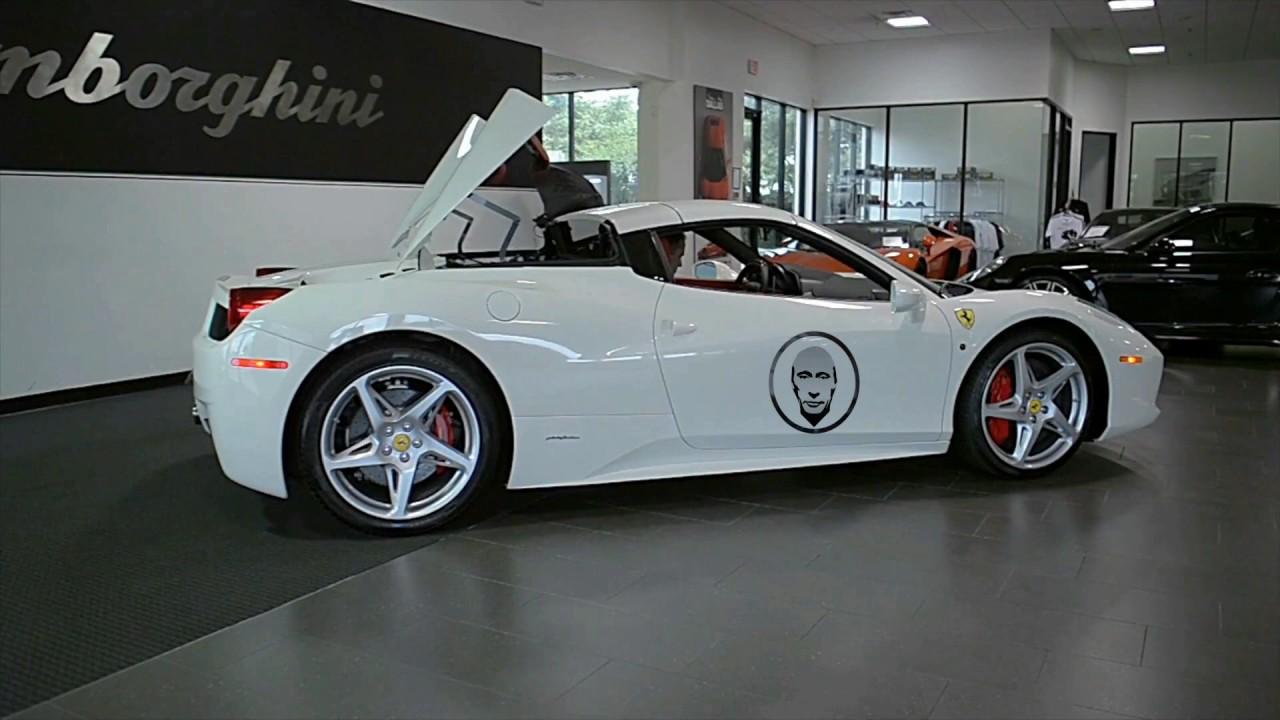 PutinCoin Ferrari Sport Car