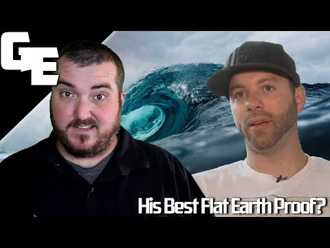 Nathan Thompson's Best Proof For A Flat Earth thumbnail