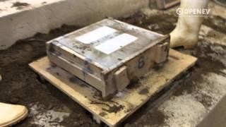鋳造実習 砂型作り