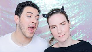 manny mua repeating simply nailogical for 1 minute straight