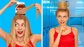 FUN DIY FOOD HACKS! Smart Girly Hacks by Mr Degree