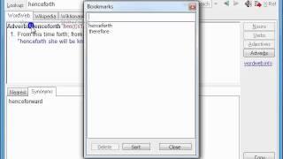 Let's have a look at WordWeb screenshot 5