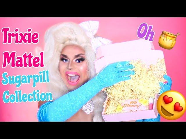 TRIXIE MATTEL OH HONEY ! ???? SUGAR PILL COLLECTION | MAKEUP & KIKI | JAYMES MANSFIELD